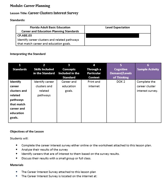 Similiar Career Interest Survey Printable Keywords